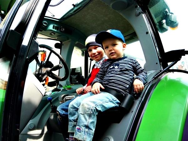 Traktor fahren Bauernhofurlaub NRW