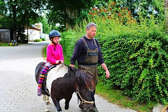 Ponyreiten Bauernhofurlaub NRW