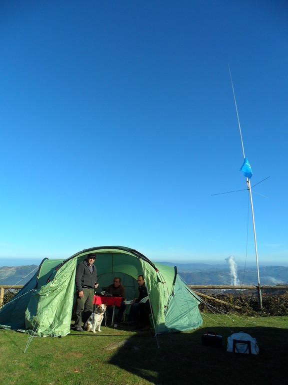Zona de activación, Pico del monte La Teyerona