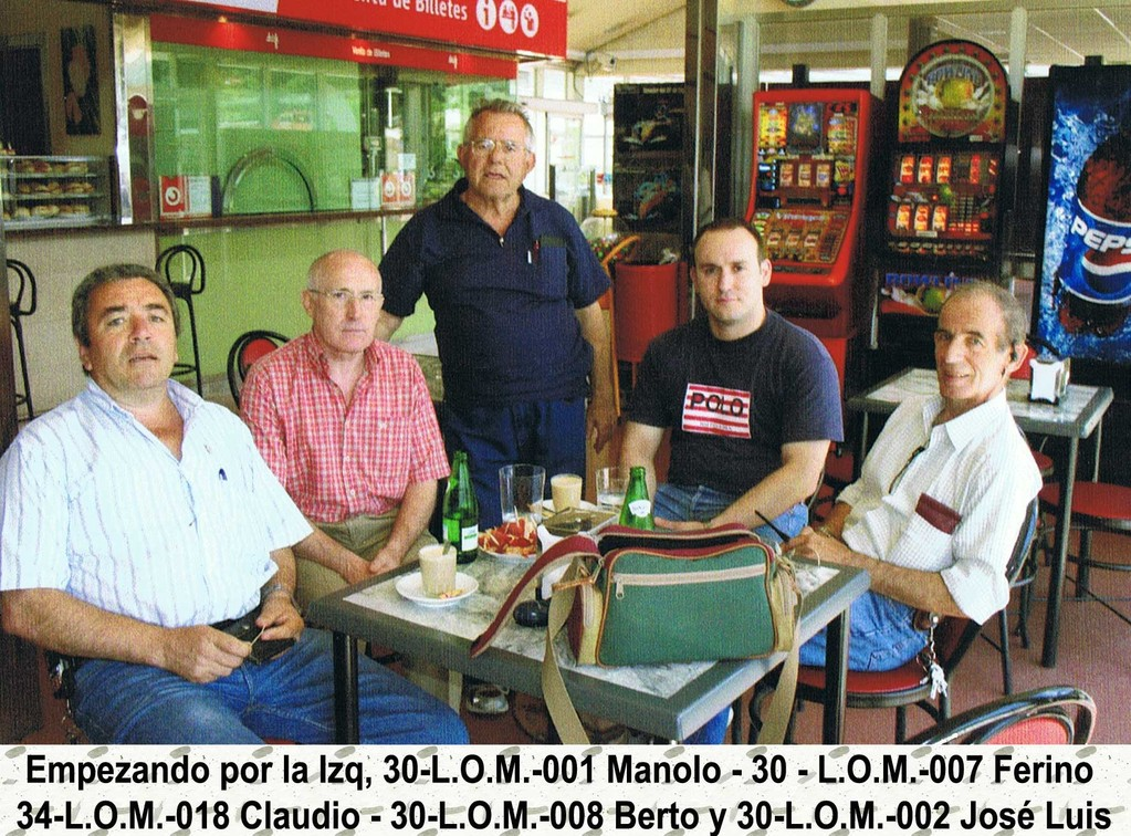 Operadores de L.O.M. de Mieres y Canarias