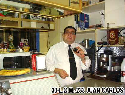 30-L.O.M.-233 - JUAN CARLOS - ZARAGOZA