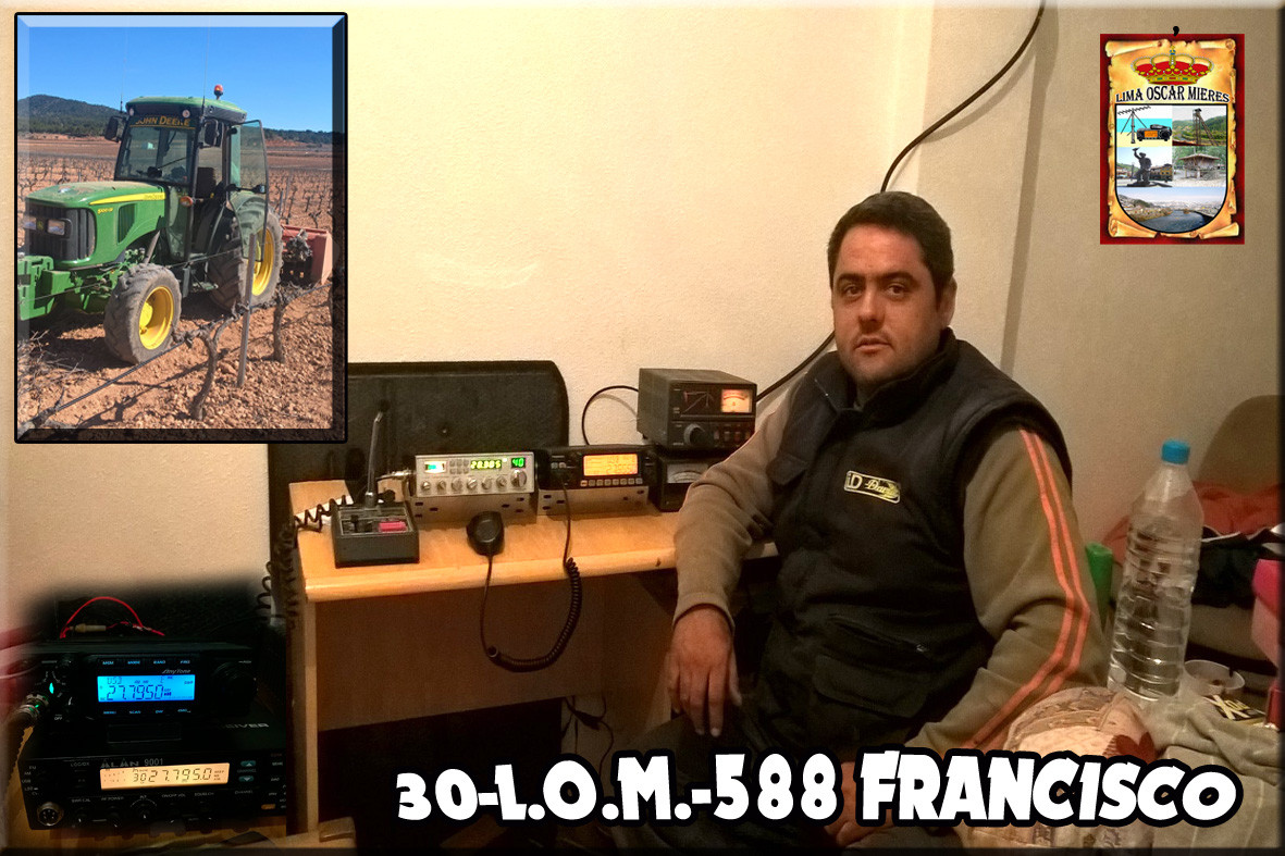 30-L.O.M.-588 FRANCISCO (PACO) - ALICANTE