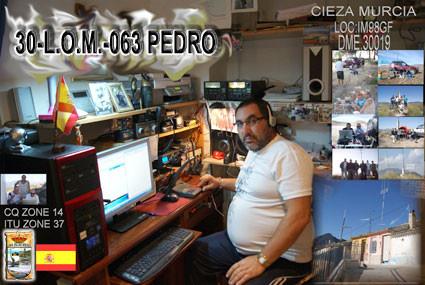 30-L.O.M.-063 - PEDRO - MURCIA
