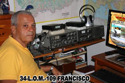 34-L.O.M.-109 - FRANCISCO - GRAN CANARIA