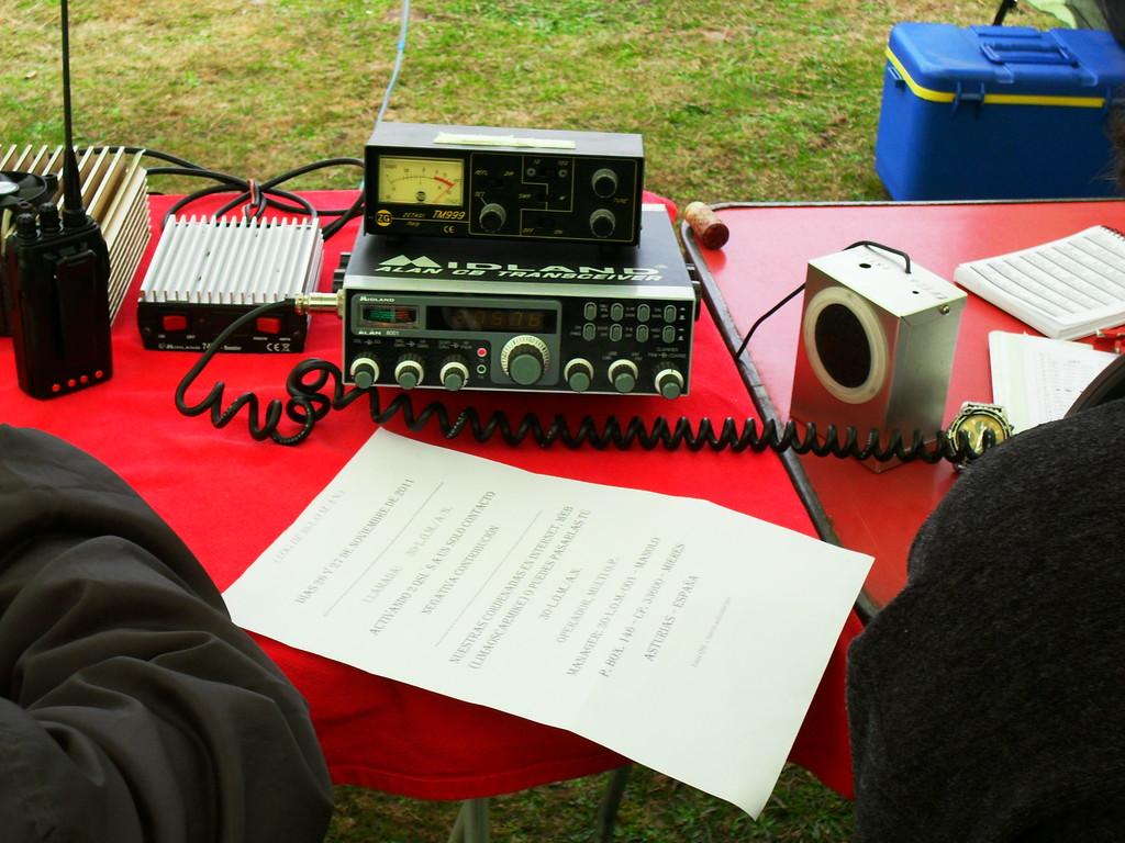 Emisora de transmisión ( Alan 8001)