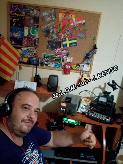 30-L.O.M.-102 JOSÉ BENITO - VALENCIA