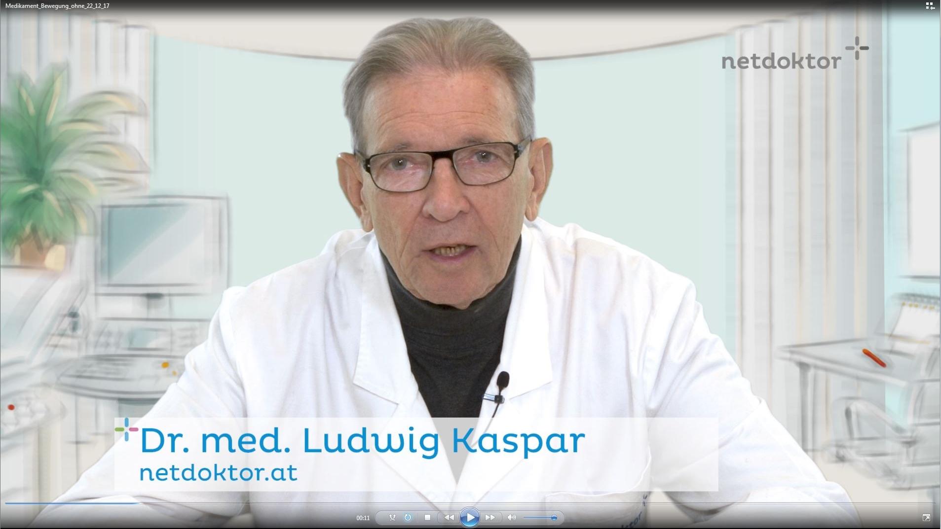 Videoschiene für netdoktor.at - Diesfalls der Vlog des medizinischen Leiters. Komplettabwicklung (Konzept, Aufnahme, Schnitt, Musik)