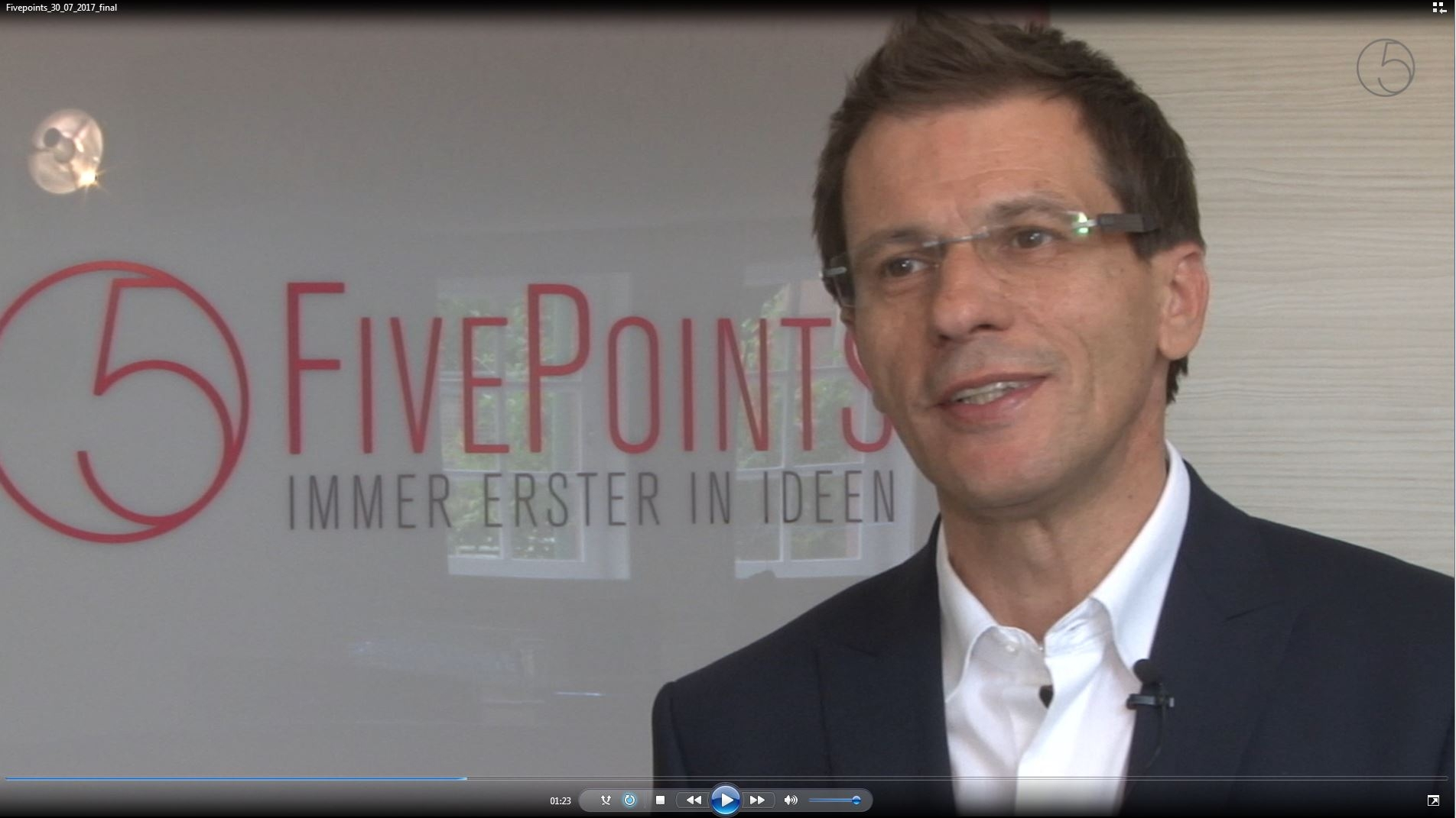 Fivepoints Promotions: Website, Profilierung, Video von MEDIACLUB