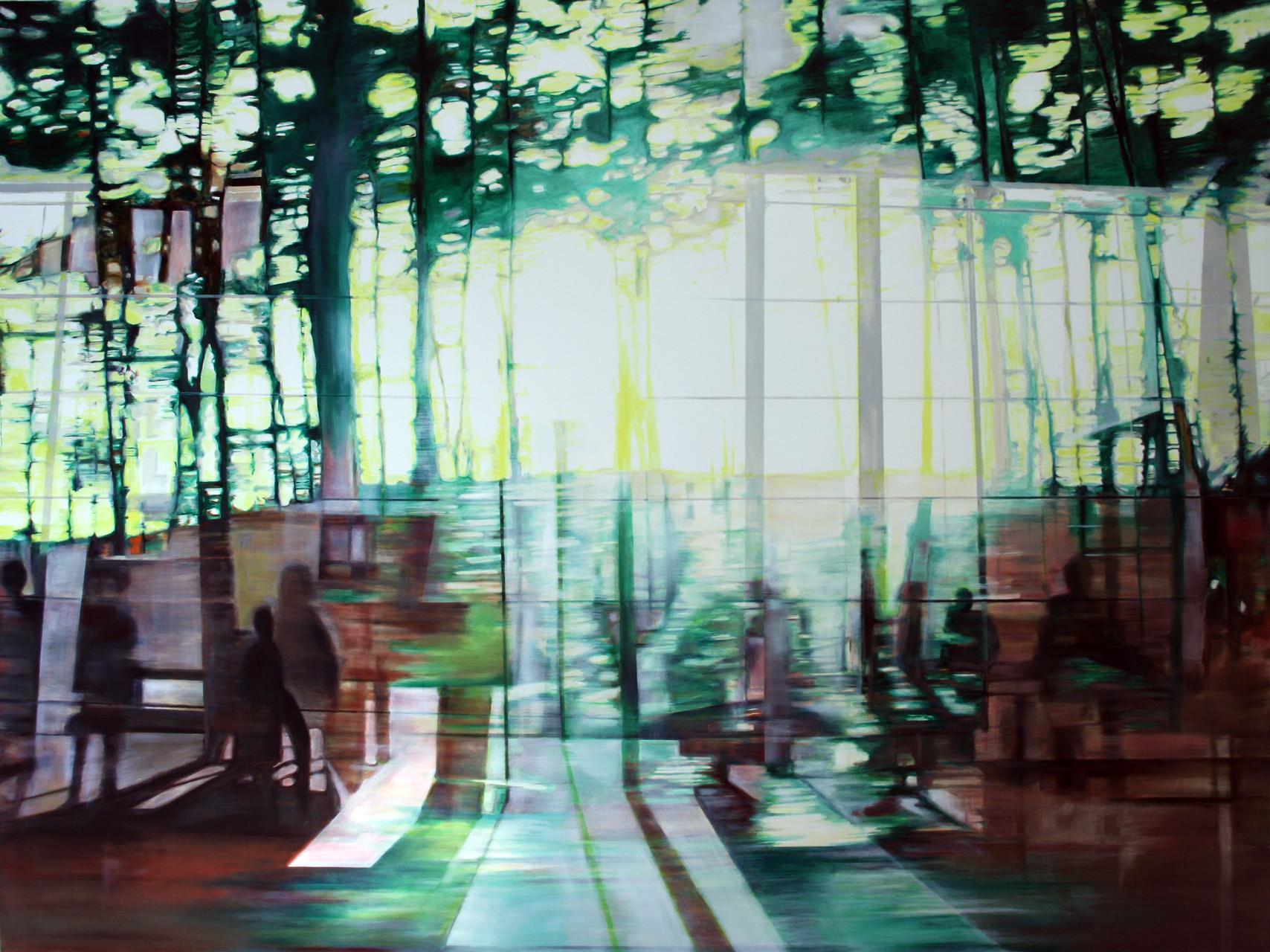 Lichtblick 2015    Öl auf Leinwand   120 x 160 cm