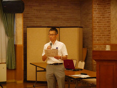 横山修習委員によるセミナー