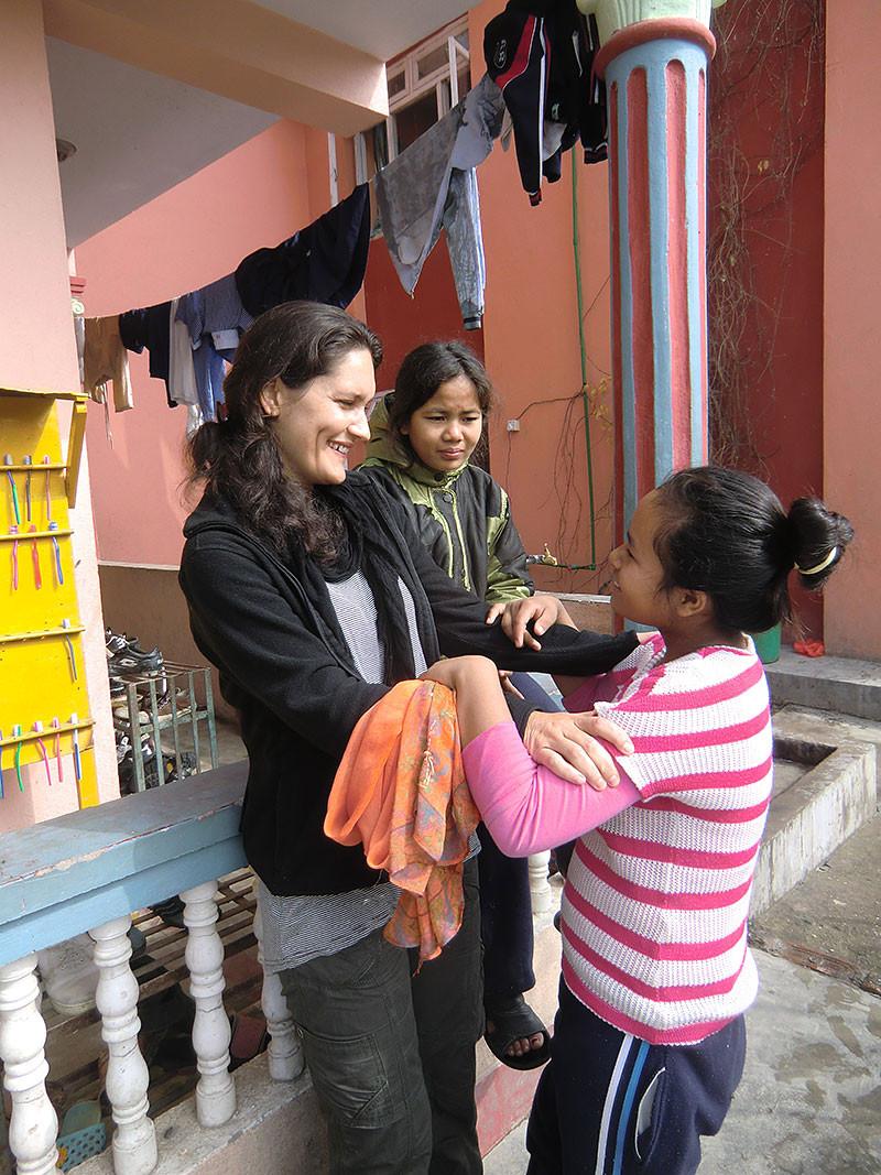 Emma Taylor gründete das Waisenhaus Sunrise im Juli 2005