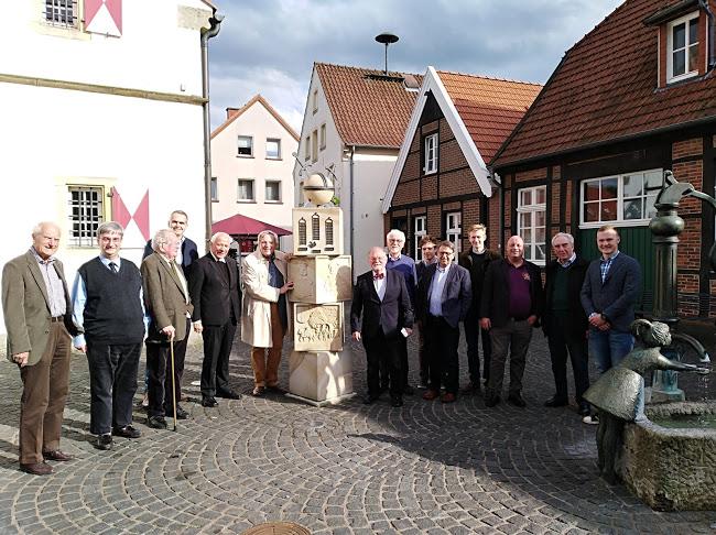 Der Siebener-Ausschuss bei seinem Treffen in Schöppingen am 26. April 2018