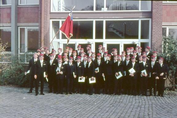 Die Abiturientia Paulina 1966 II (November 1966 nach dem 1. Kurzschuljahr)
