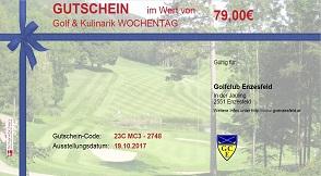 Gutscheine Golfclub Enzesfeld