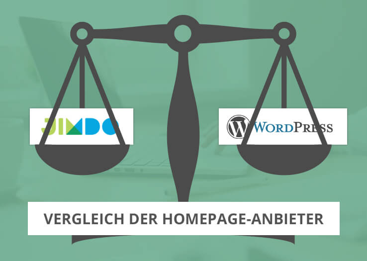 jimdo oder wordpress