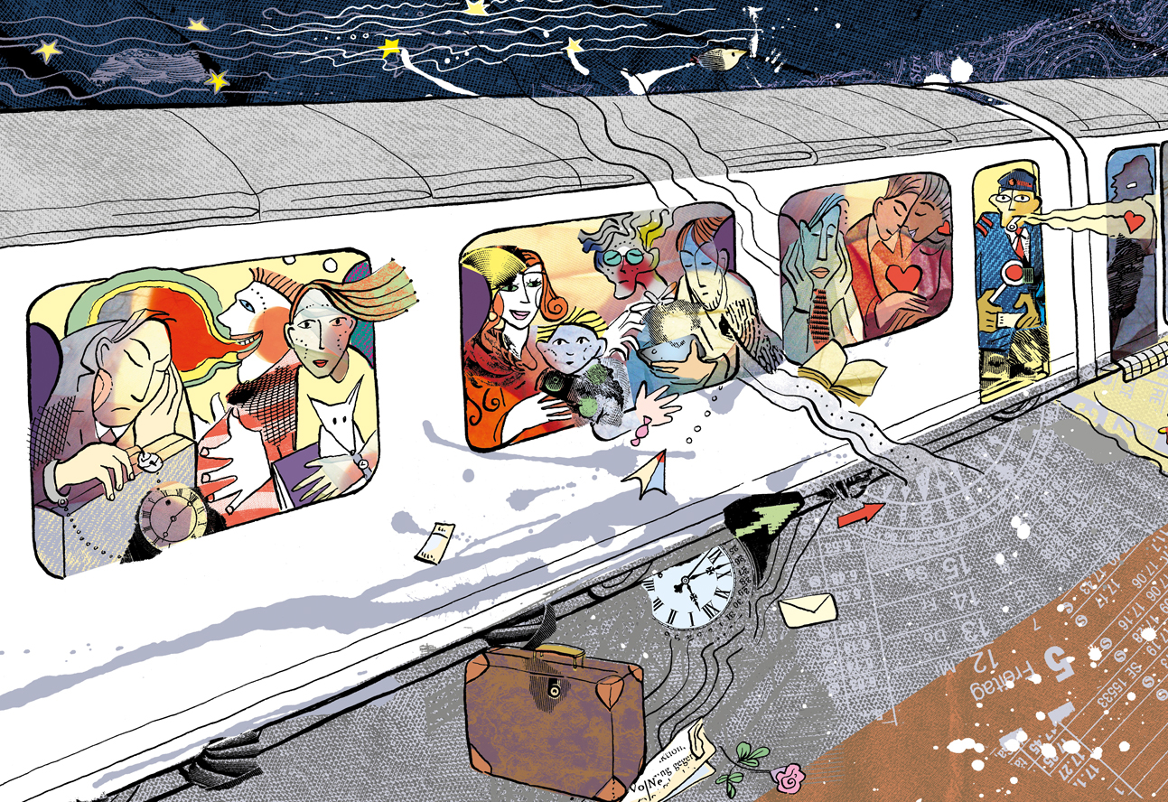 Das Eisenbahngleichnis