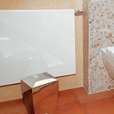 Heizung im Badezimmer