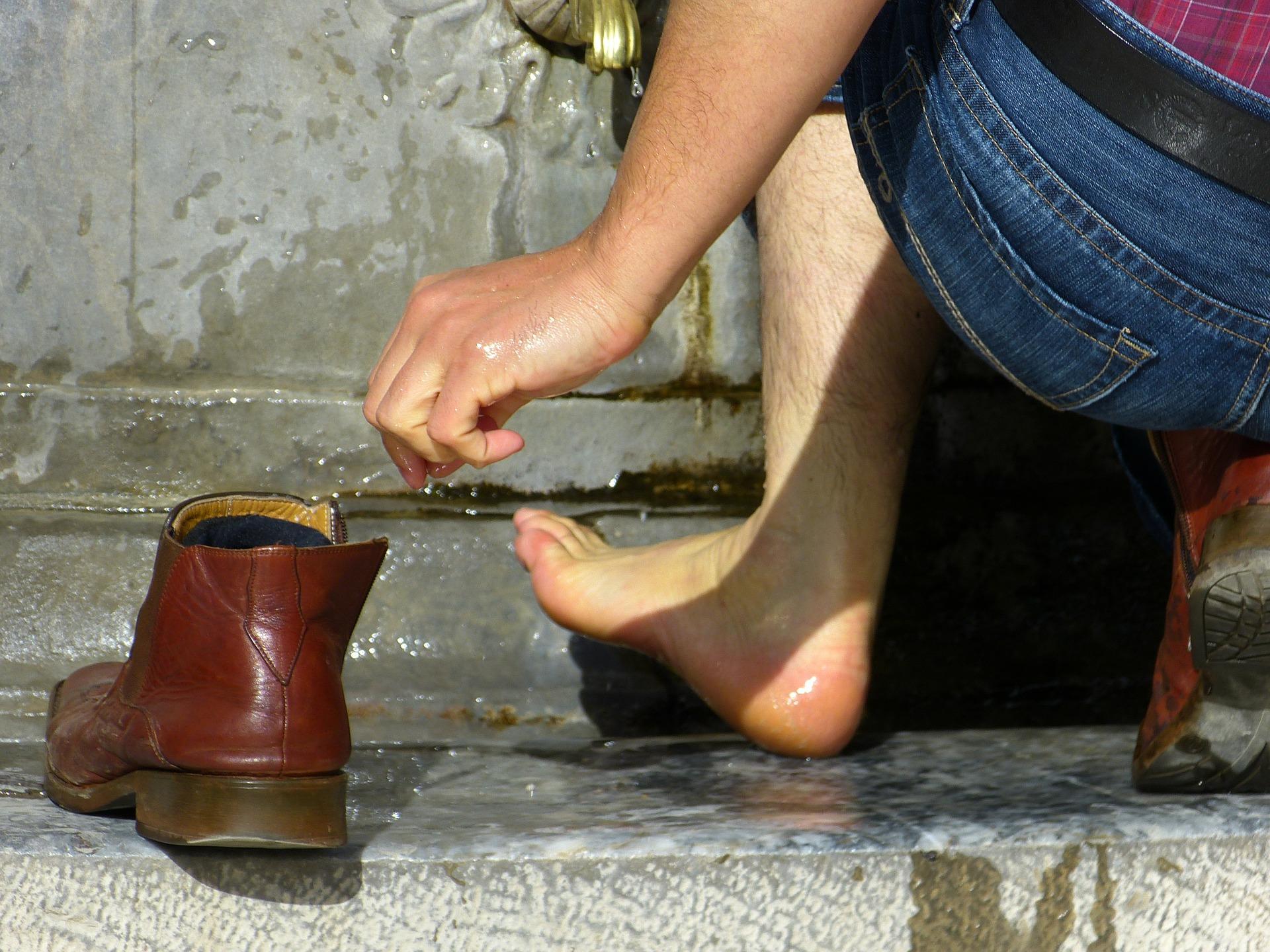 Fußwaschung