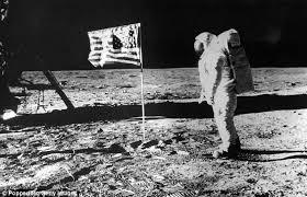 1er pas de l'homme sur la Lune