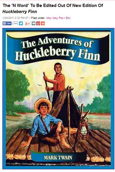 satire in the adventures of huckleberry finn by mark twain