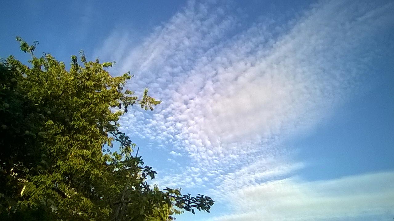 Himmel über Marbach