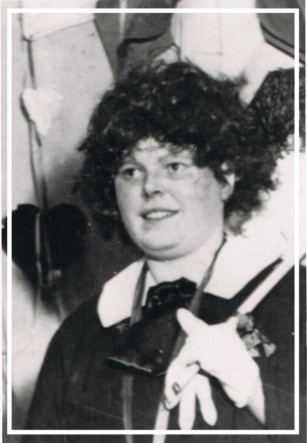 Elisabeth Nilges (geb. Gräf) - 1951