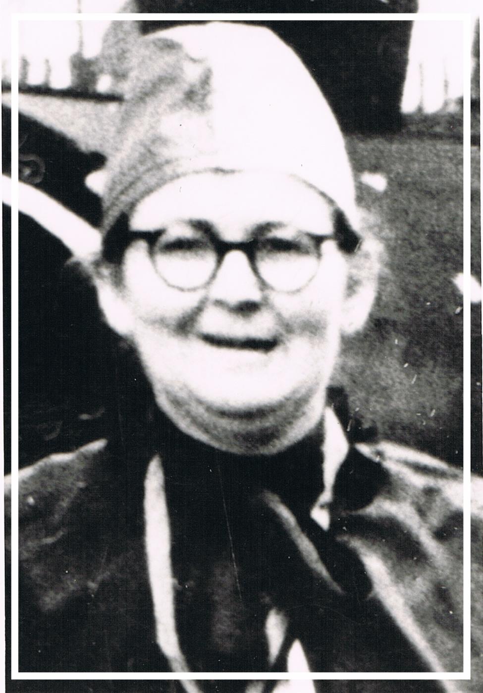Veronika Winnen (geb. Hahn) - 1950