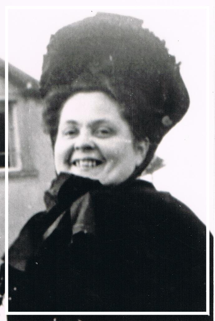 Ina Nalbach (geb. Klaus) - 1954