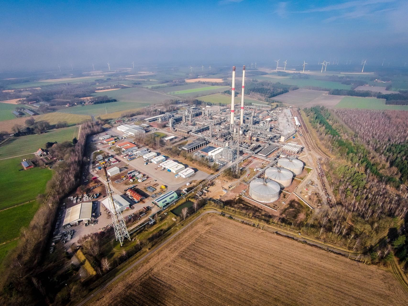 Exxon - Erdgasaufbereitungsanlage Großenkneten