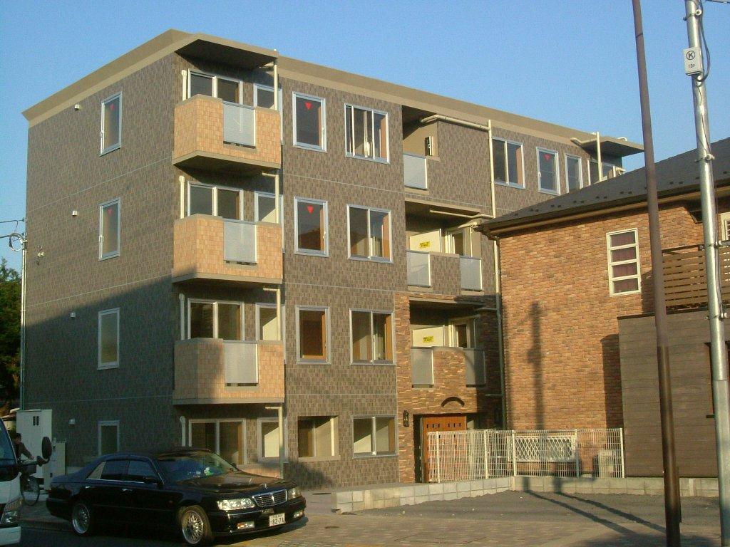 賃貸マンション(壁式RC造4階建て)