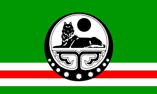 drapeau Tchétchène
