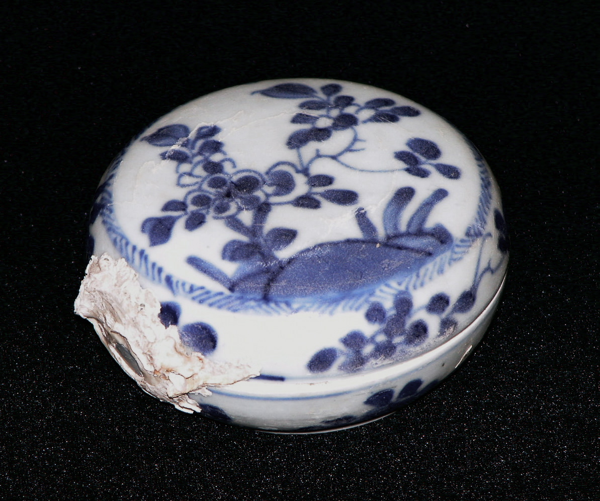 Boîte en porcelaine, épave de Ca Mau (c. 1725)