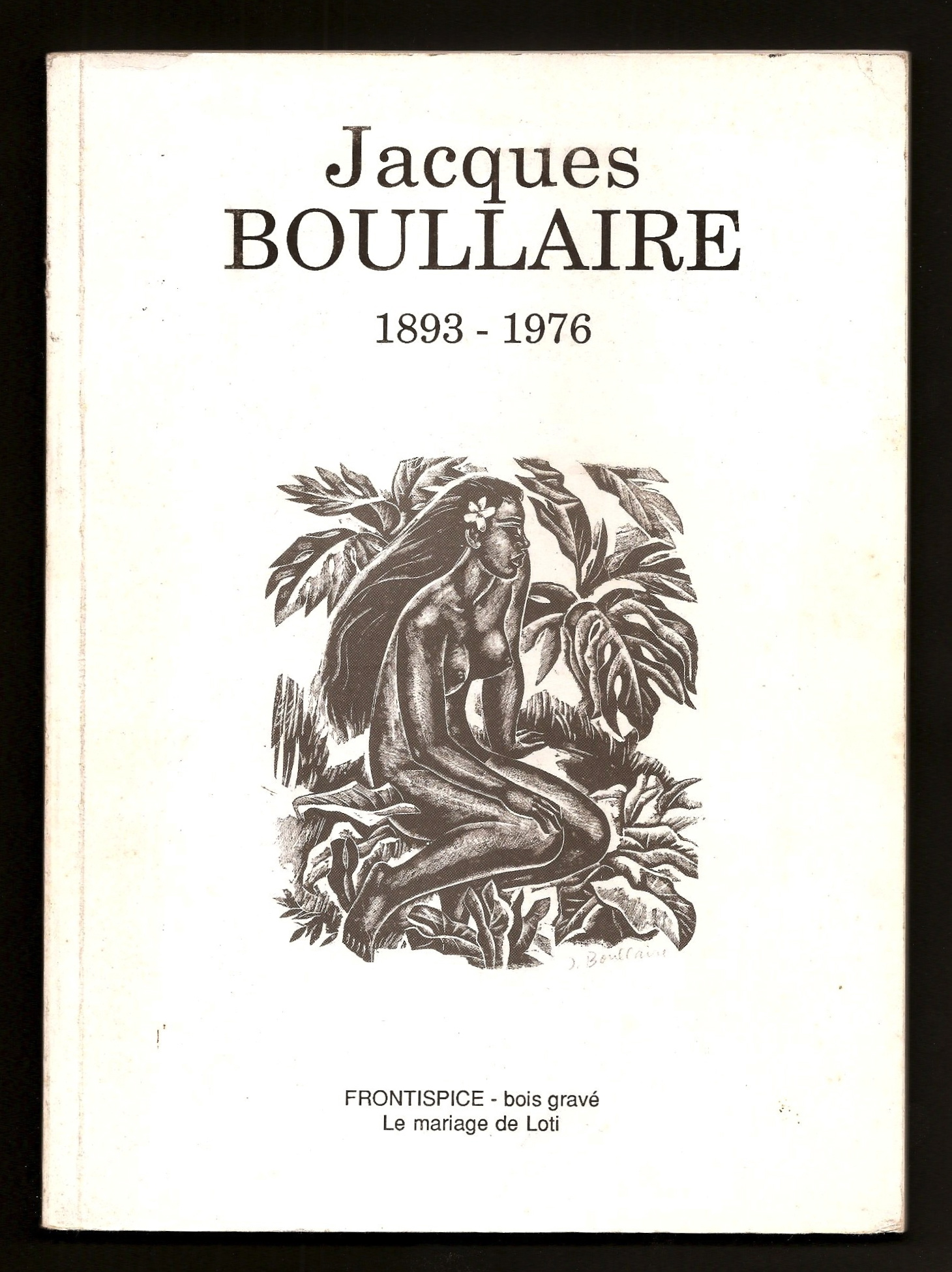 l'Œuvre gravée de J. Boullaire