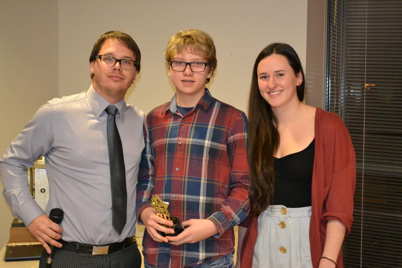 Prix Amélioration: Francis-Olivier Beauchamp