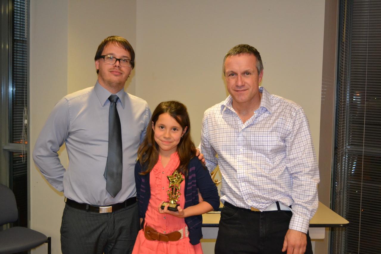 Prix Amélioration: Antonia Rendon