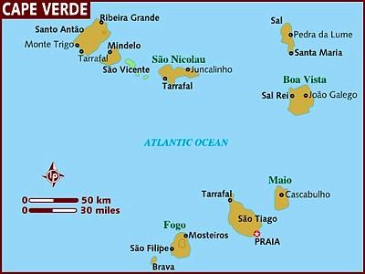 Zeiljachten te huur in de Kaap Verdische Eilanden voor een zeilvakantie vanaf Sao Vicente
