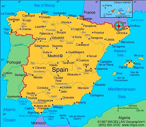 Zeiljachten te huur in Spanje voor zeilvakanties vanuit Barcelona, Denia, Alicante en Estartite, Can. EIlanden en de Balearen