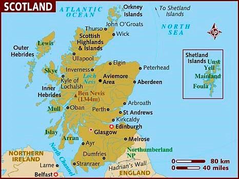 Zeiljachten te huur in Schotland voor een zeilvakantie door de Lochs