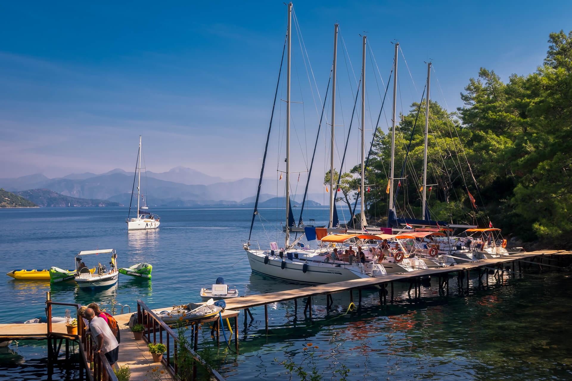 Flottieljezeilen in Turkije, zeiljachten te huur voor zeilvakanties