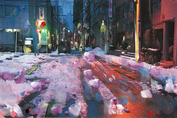 東上野の路地