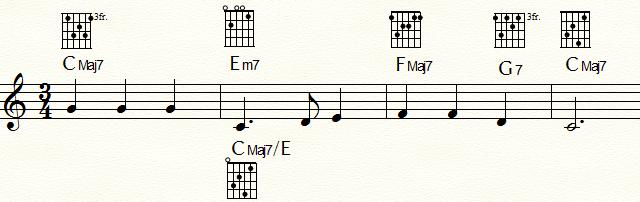 「ふるさと」 T-T代理-SD・D-T 進行例
