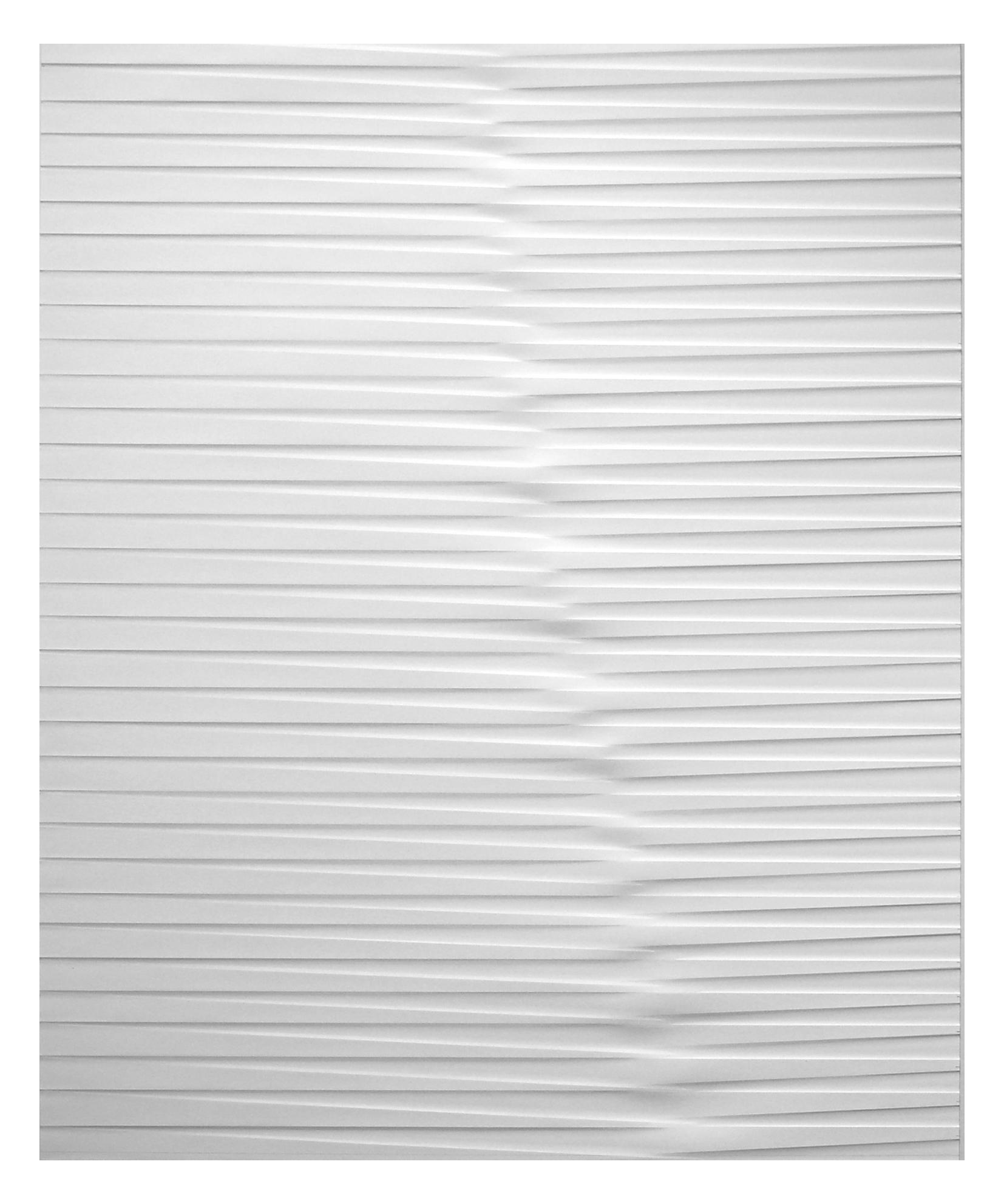 lines P36, 2019, Papier gefalzt, 59,5 x 77,0 cm