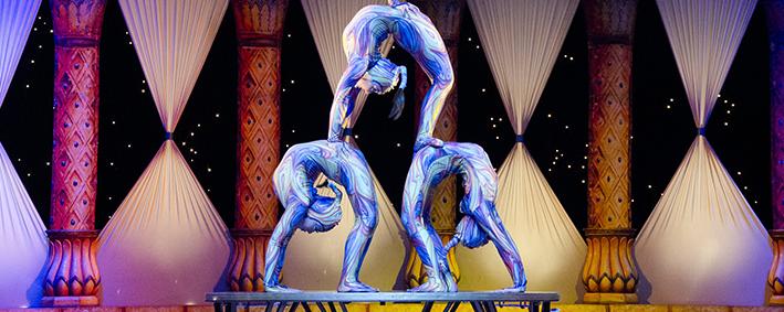 akrobatische Turnkünste