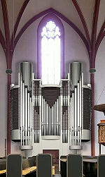 Kuhn-Orgel in der Kilianskirche in Korbach