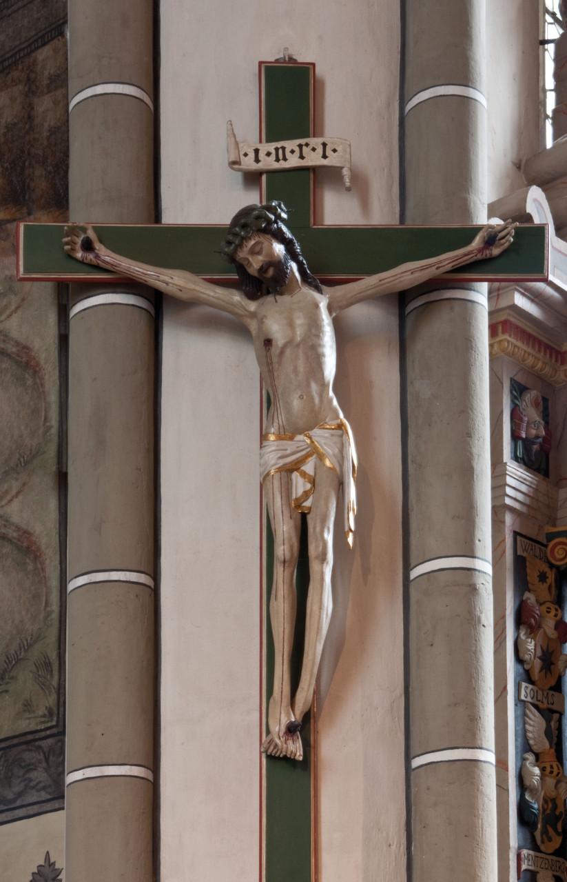 Das älteste Kunstwerk: Kruzifix von 1470