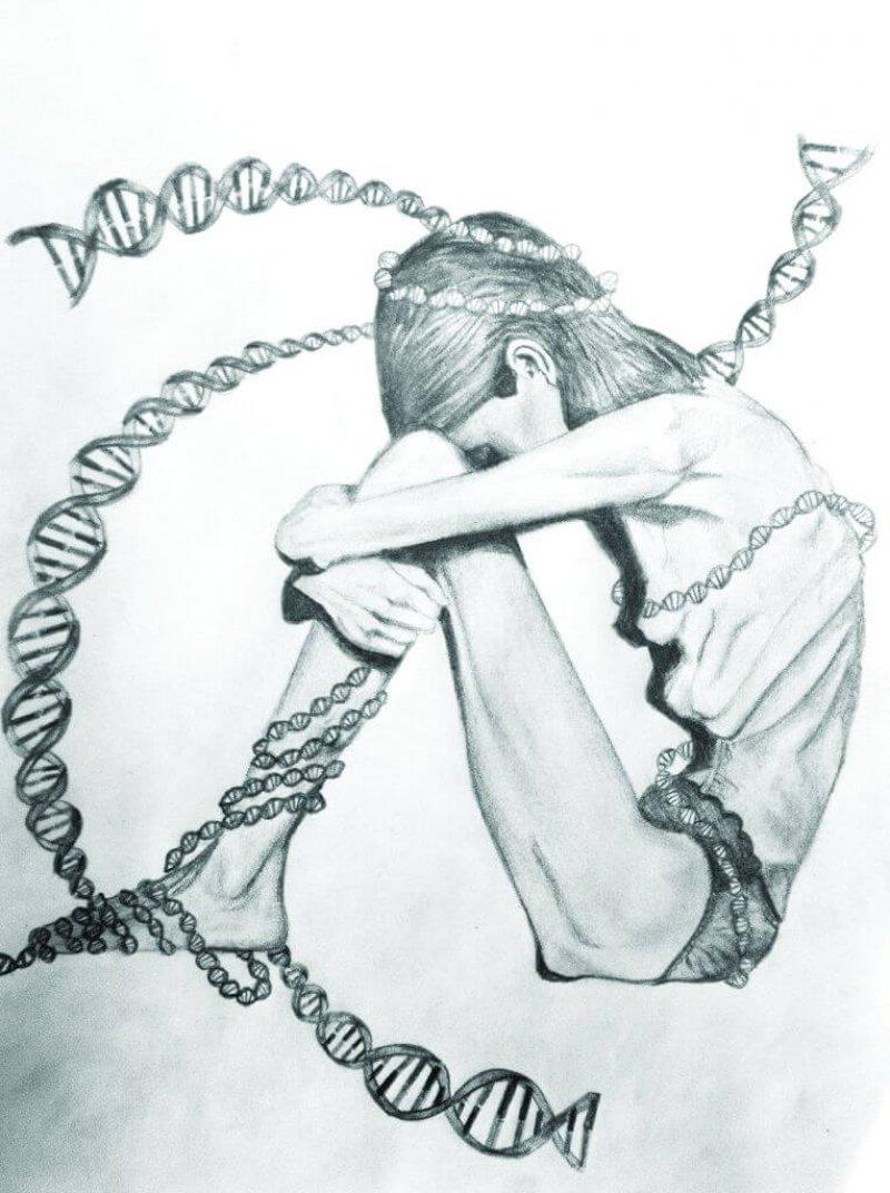 Essstörungen sind NICHT genetisch!