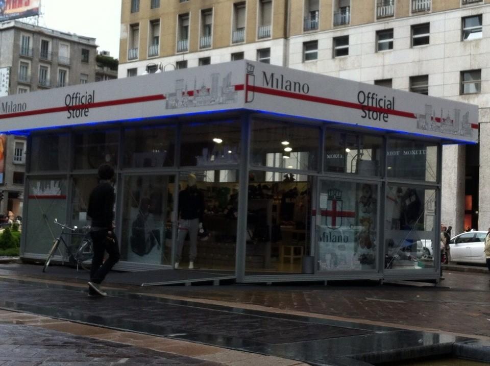 """tienda con objetos marca """"Milano"""""""