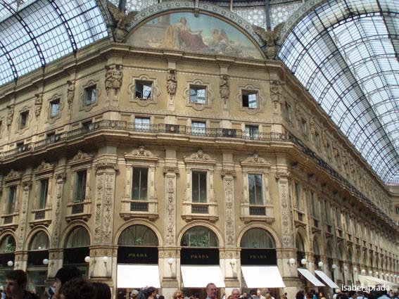 """Arcos en la """"Galleria Vittorio Emanuelle"""""""