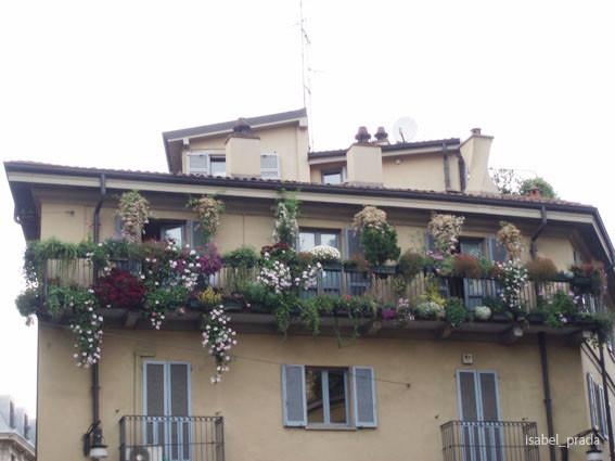 Casa tipica de Milan en V. Madonnina