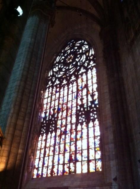 Vidriera Duomo